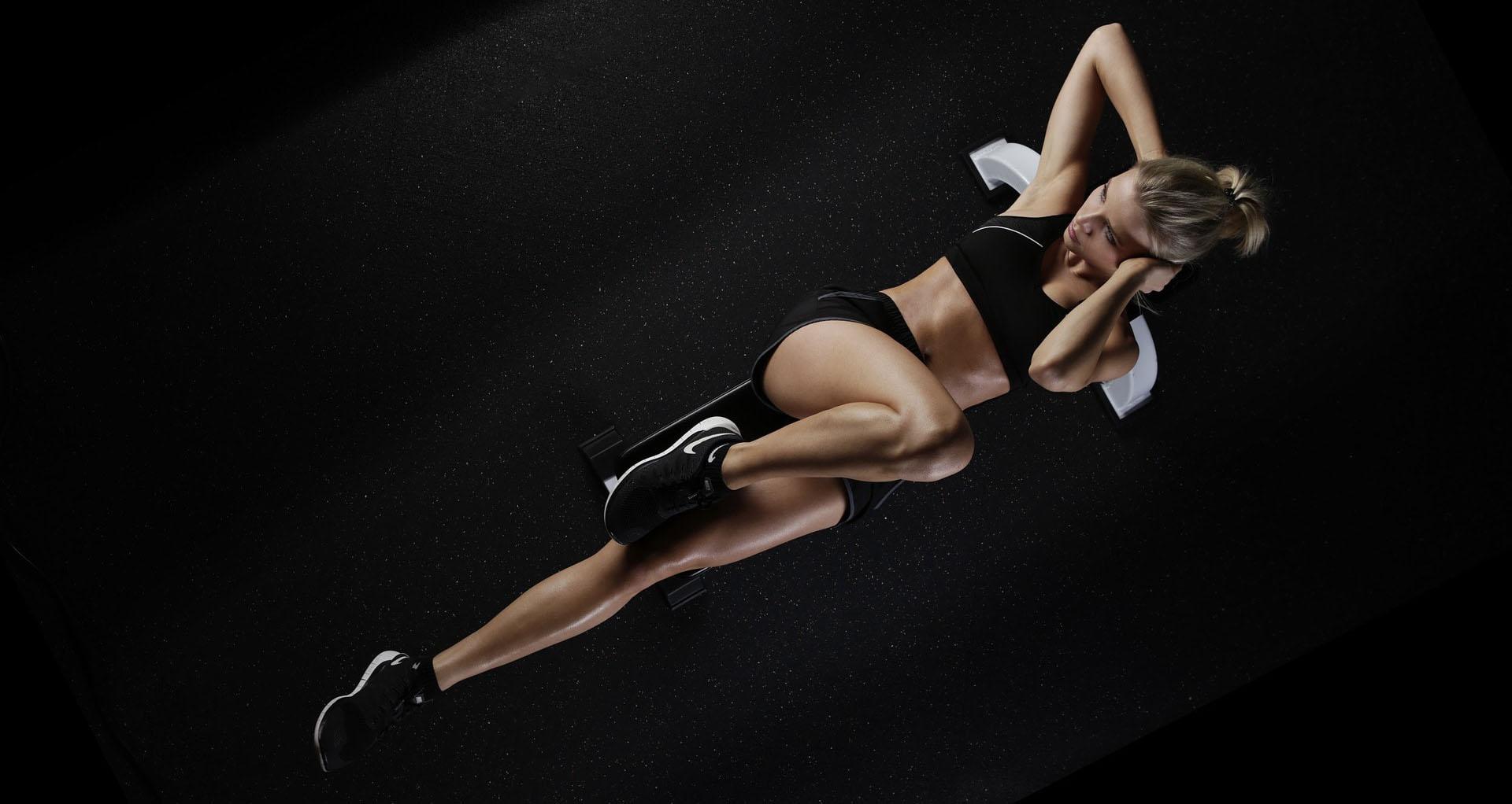entrenar mujer